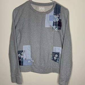 Caslon pullover sweater size Xs gray